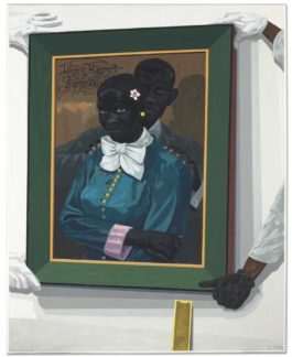Kerry James Marshall-Still Life With Wedding Portrait-2015