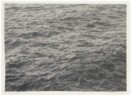 Vija Celmins-Lead Sea #2-1969