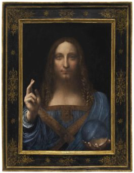 Leonardo Da Vinci - Salvator Mundi-1500