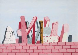 Philip Guston-Untitled (Wall)-1971