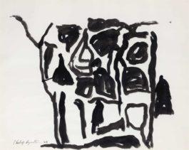 Philip Guston-Untitled (Florida Drawing)-1968