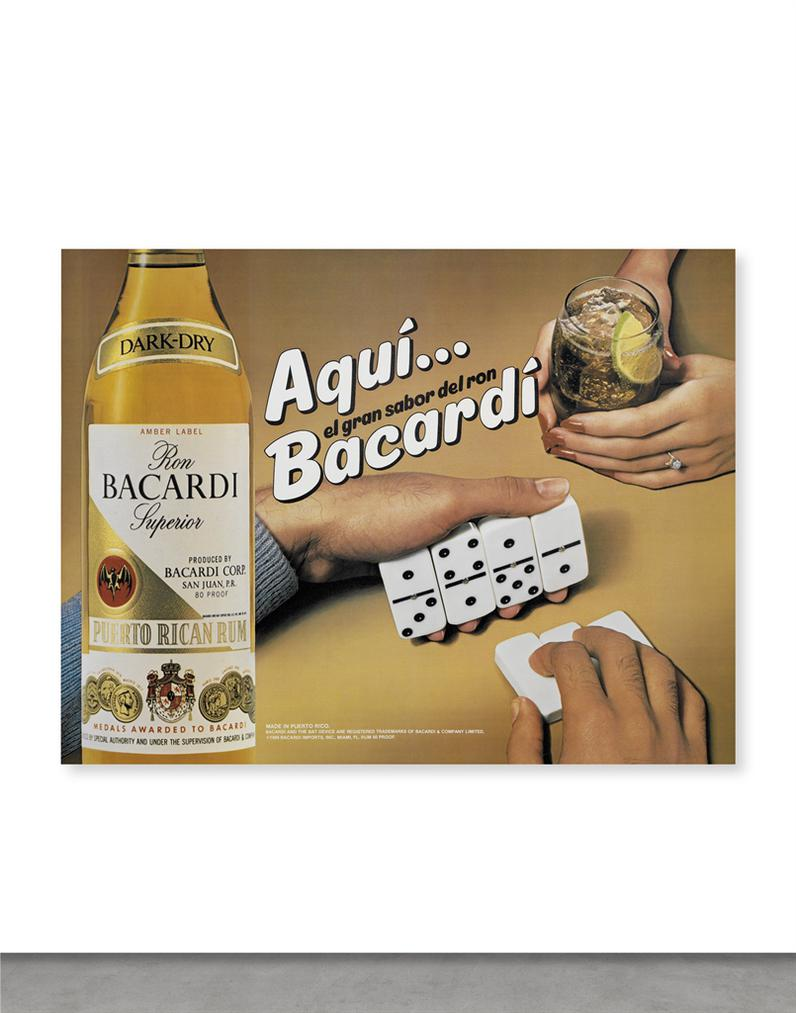 Jeff Koons-Aqui Bacardi-1986