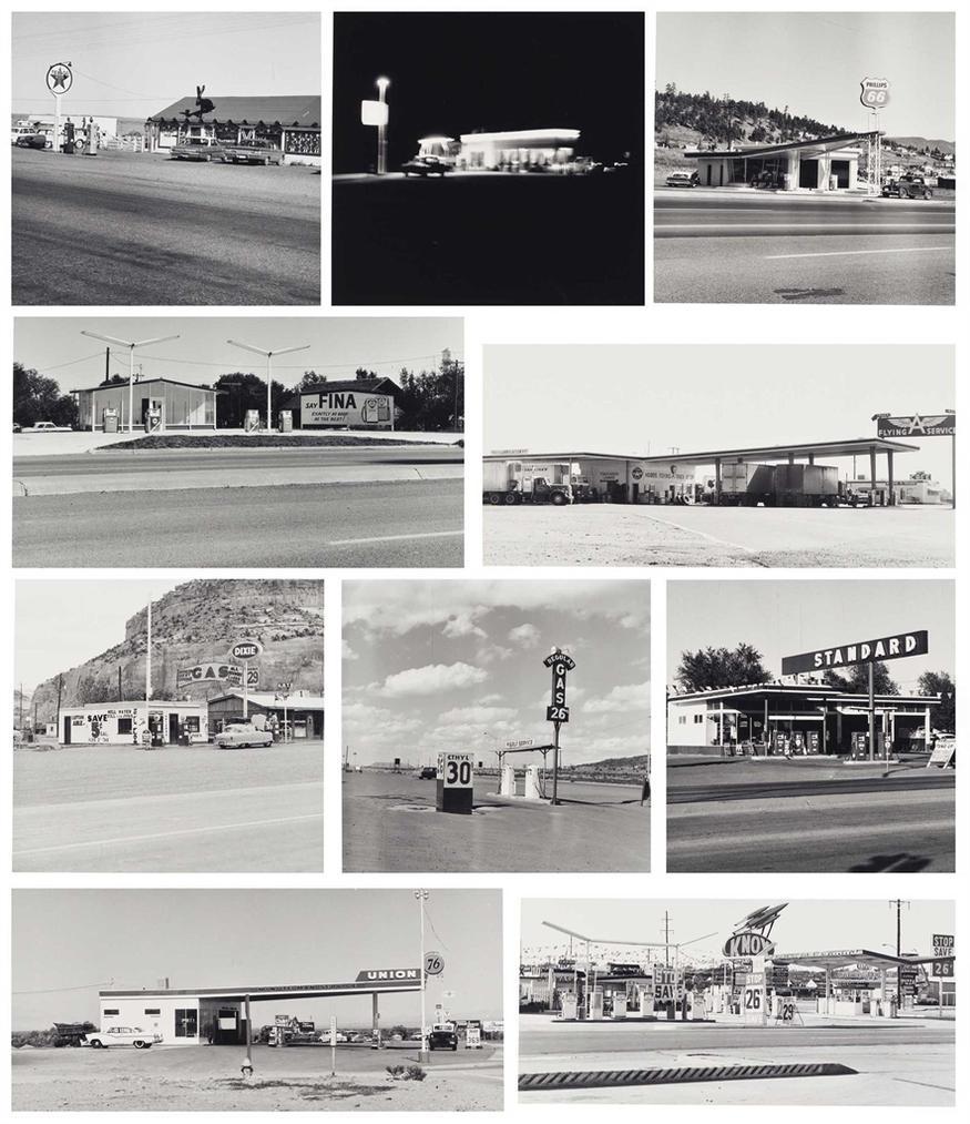 Ed Ruscha-Gasoline Stations-1962