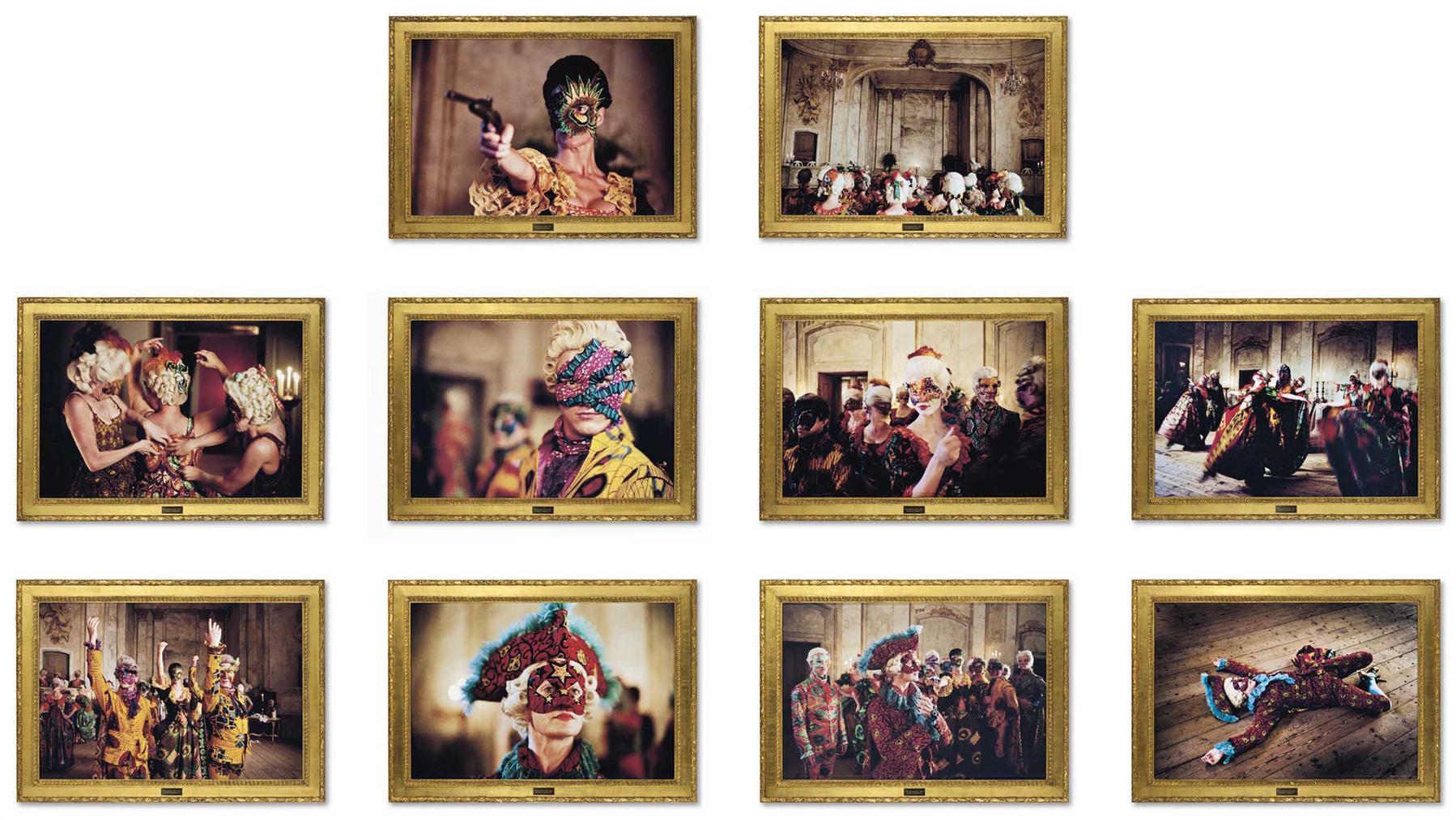 Yinka Shonibare-Un Ballo In Maschera (I-X)-2005