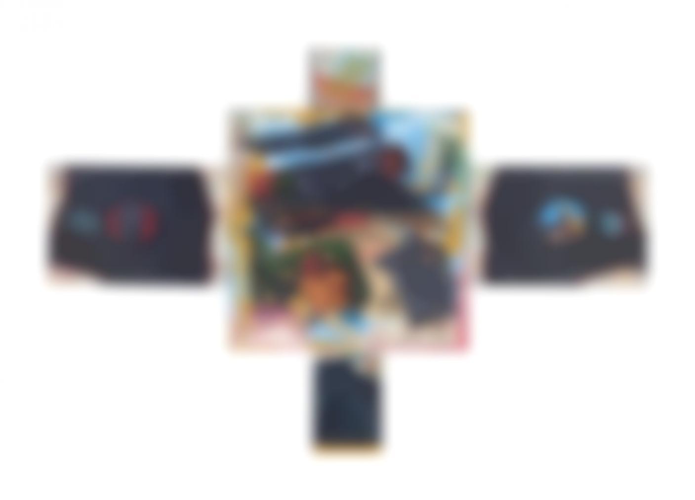 David Wojnarowicz-Mexico Crucifix-1988