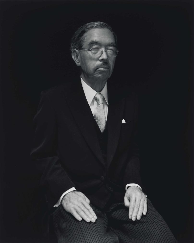 Hiroshi Sugimoto-Emperor Hirohito-1999
