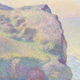 Claude Monet-La Pointe Du Petit Ailly-1897