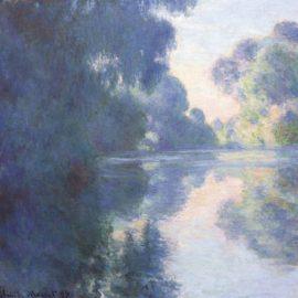Claude Monet-Matinee Sur La Seine-1897