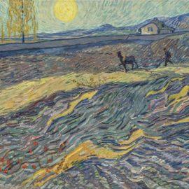 Vincent van Gogh-Laboureur Dans Un Champ-1889
