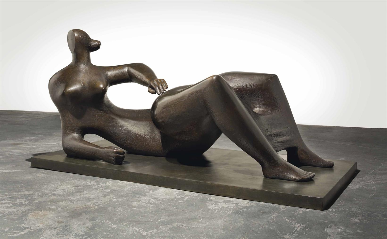 Henry Moore-Reclining Figure-1982
