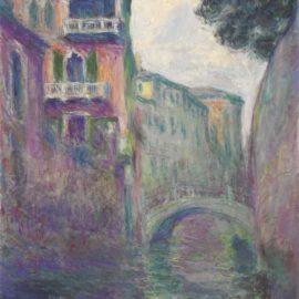 Claude Monet-Le Rio De La Salute-1908