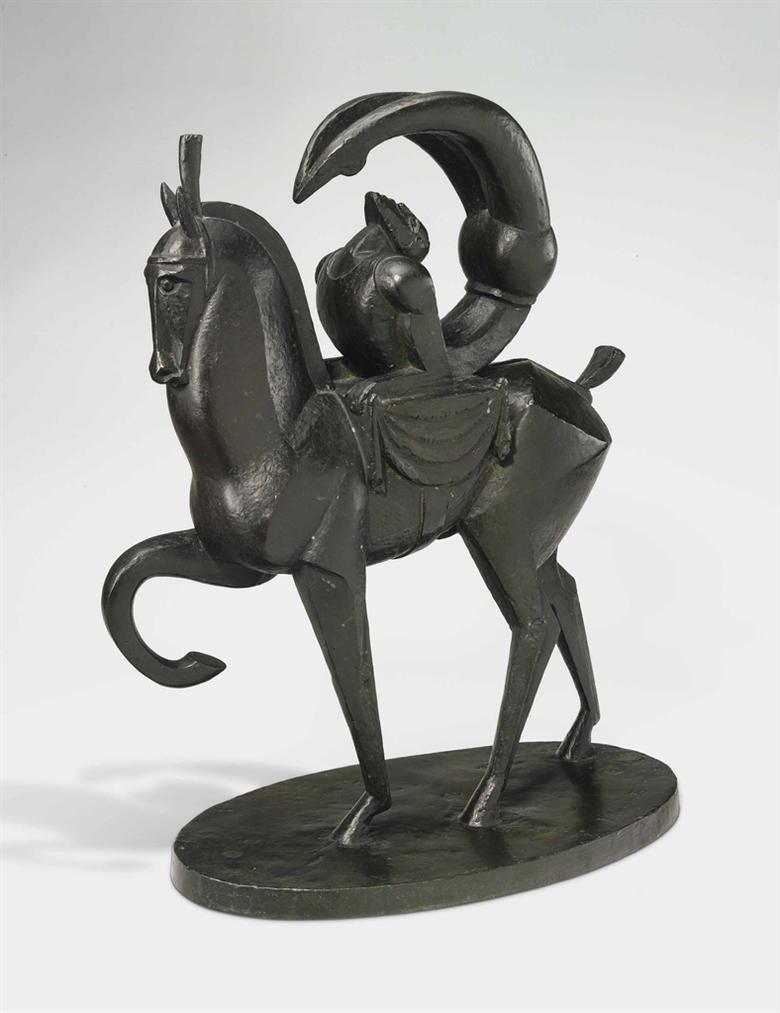 Jacques Lipchitz-Lacrobate A Cheval-1914
