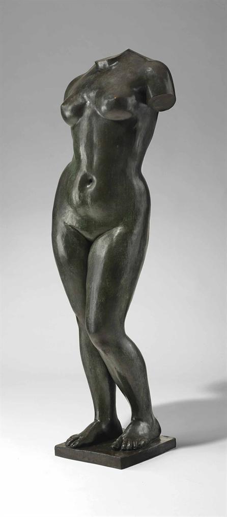 Aristide Maillol-Torse De Lete-1911