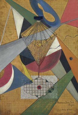 Suzanne Duchamp - Radiation De Deux Seuls Eloignes-1920