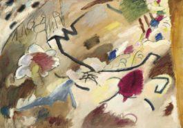 Wassily Kandinsky-Improvisation Mit Pferden (Studie Fur Improvisation 20)-1911
