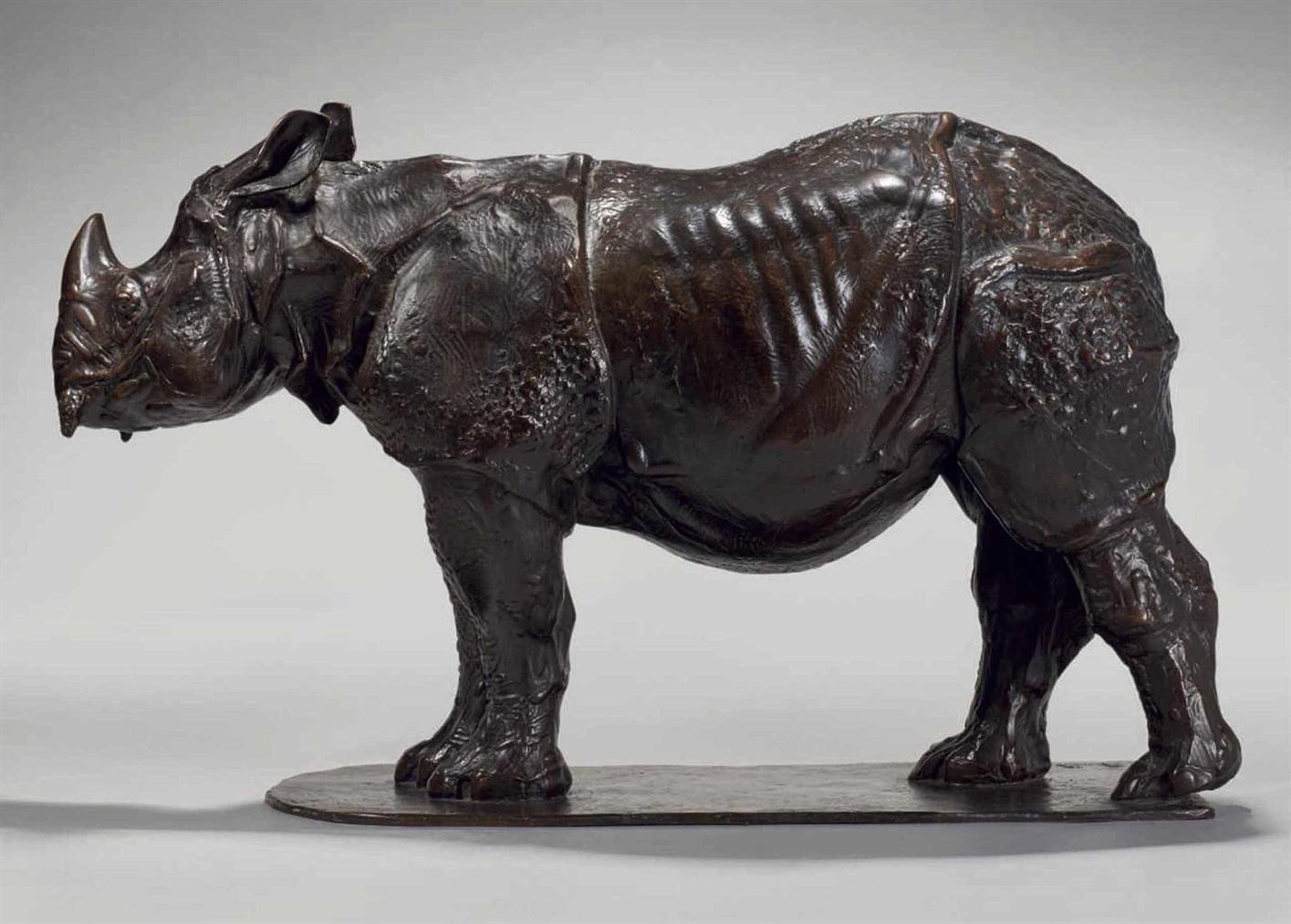 Rembrandt Bugatti-Rhinoceros De Trois Ans-1910