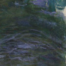 Claude Monet-Nympheas (Fragment)