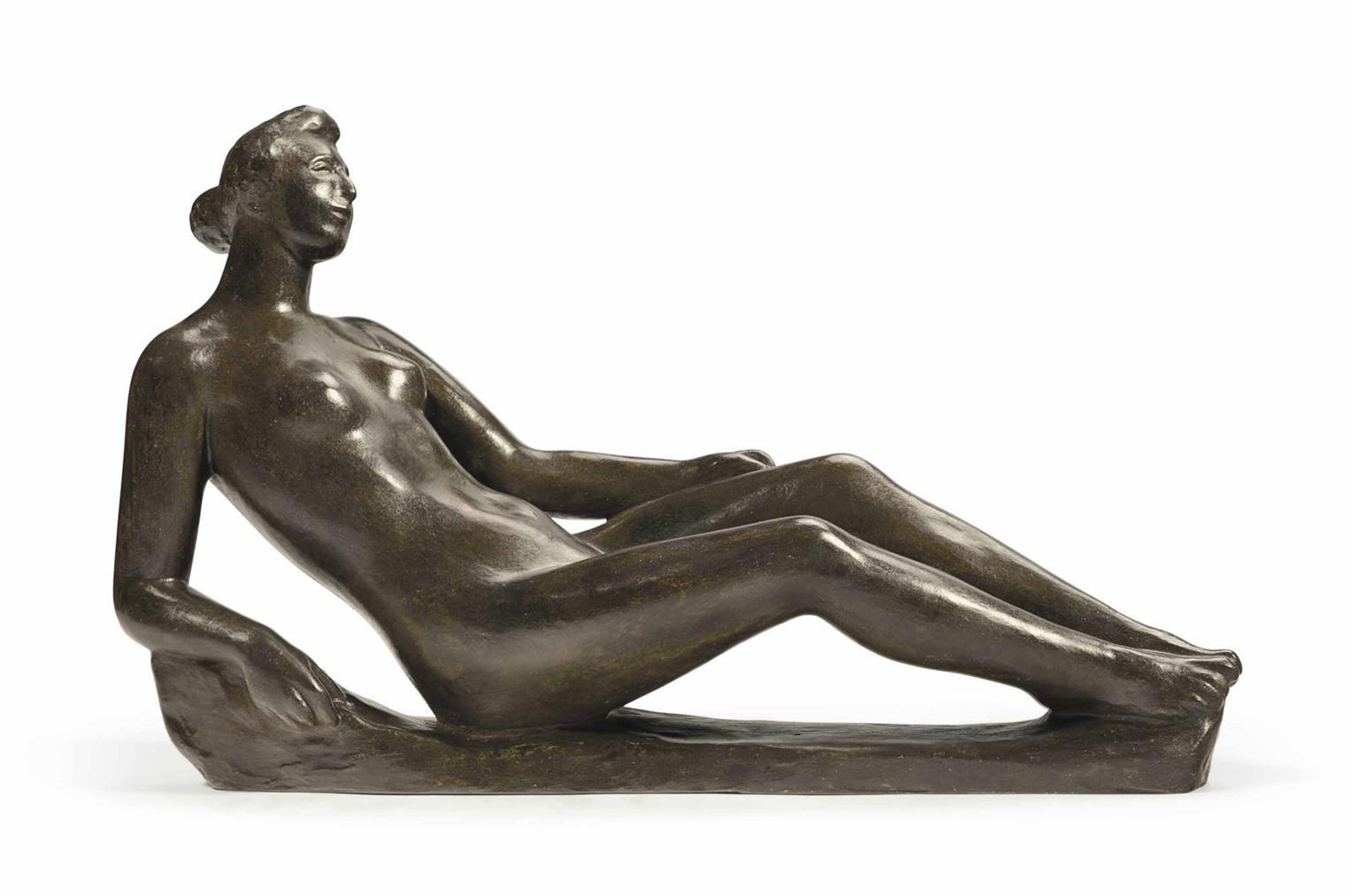 Aristide Maillol-Etude Pour Le Monument A Paul Cezanne-1912