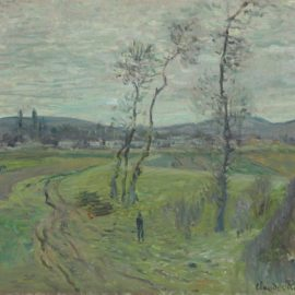 Claude Monet-La Plaine De Gennevilliers-1877