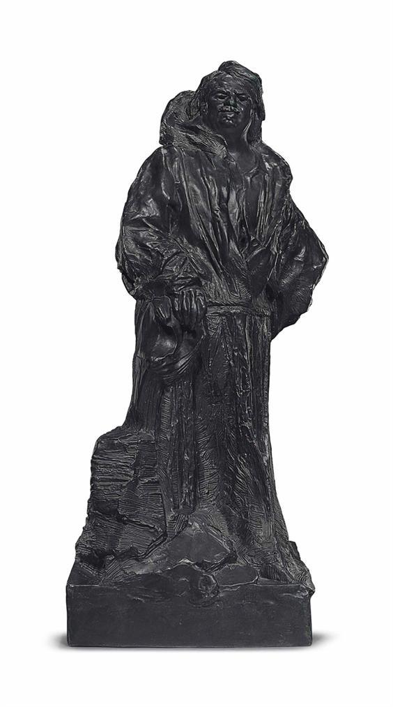 Auguste Rodin-Balzac En Robe De Dominicain-1893