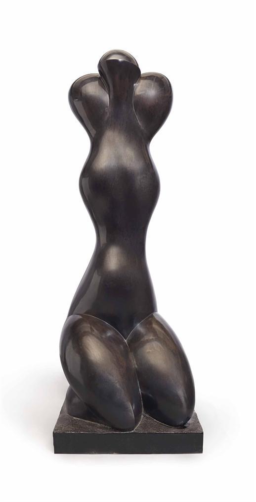 Baltasar Lobo-Grande Jeune Fille A Genoux-1987