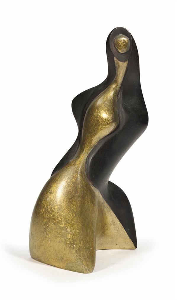 Alexander Archipenko-Gold And Black-1957
