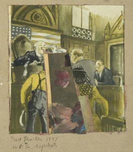 Kurt Schwitters-Mz X 5. Magistrats-1947