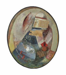 Kurt Schwitters-Ohne Titel (Orlds Rarest And Moths)-1945
