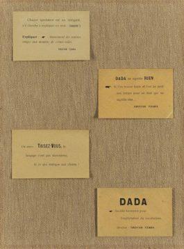 Tristan Tzara - Papillons Dada-1920