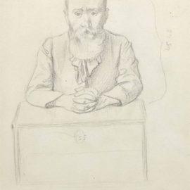 Felix Vallotton-Portrait De Vuillard