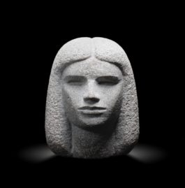 Mahmoud Moussa - Female Head Height: 23Cm-1984
