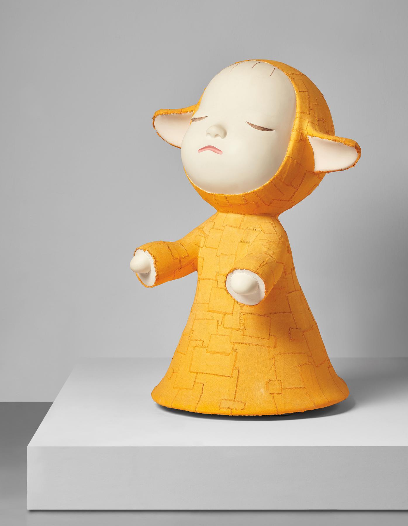 Yoshitomo Nara-The Little Pilgrim (Night Walking)-1999