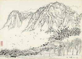 Wu Guanzhong-The Harbour-1976