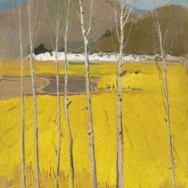 Wu Guanzhong-Golden Field-1977