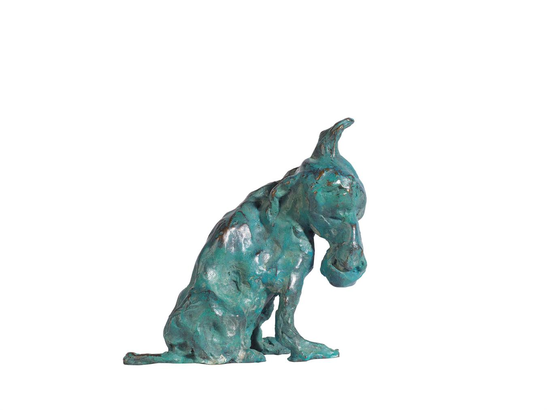 Zhou Chunya-Green Dog-2006