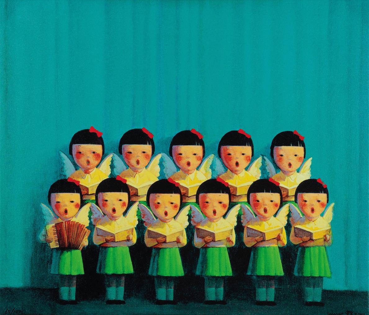 Liu Ye-Angel Choir-2001