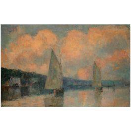 Albert Lebourg-Vue De La Bouille-1910