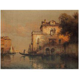 Antoine Bouvard Alias Marc Aldine - Vue De Venise