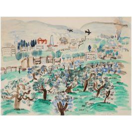 Raoul Dufy-Vue De Florence-1922