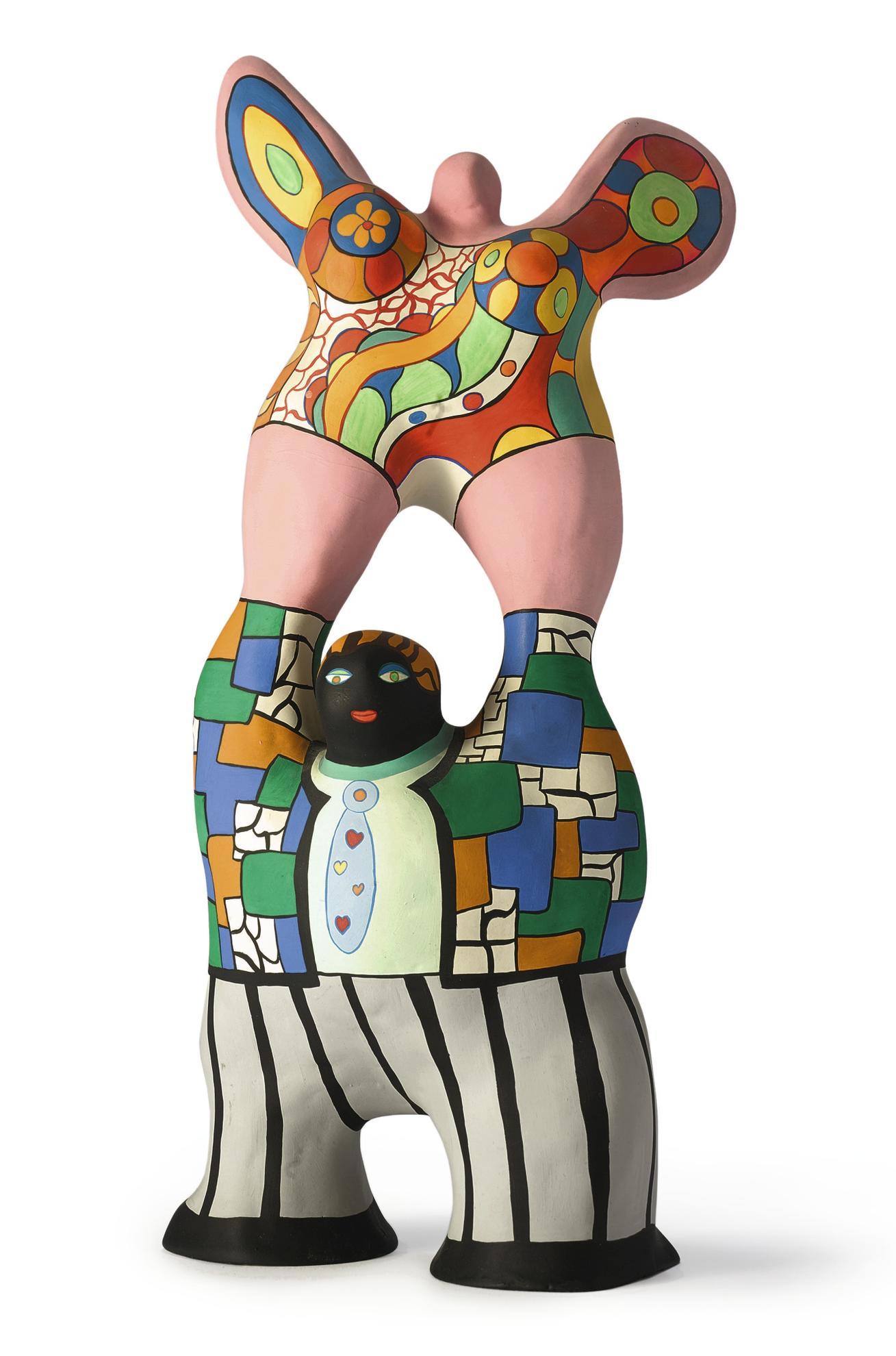 Niki de Saint Phalle-The Poet And His Muse-1974