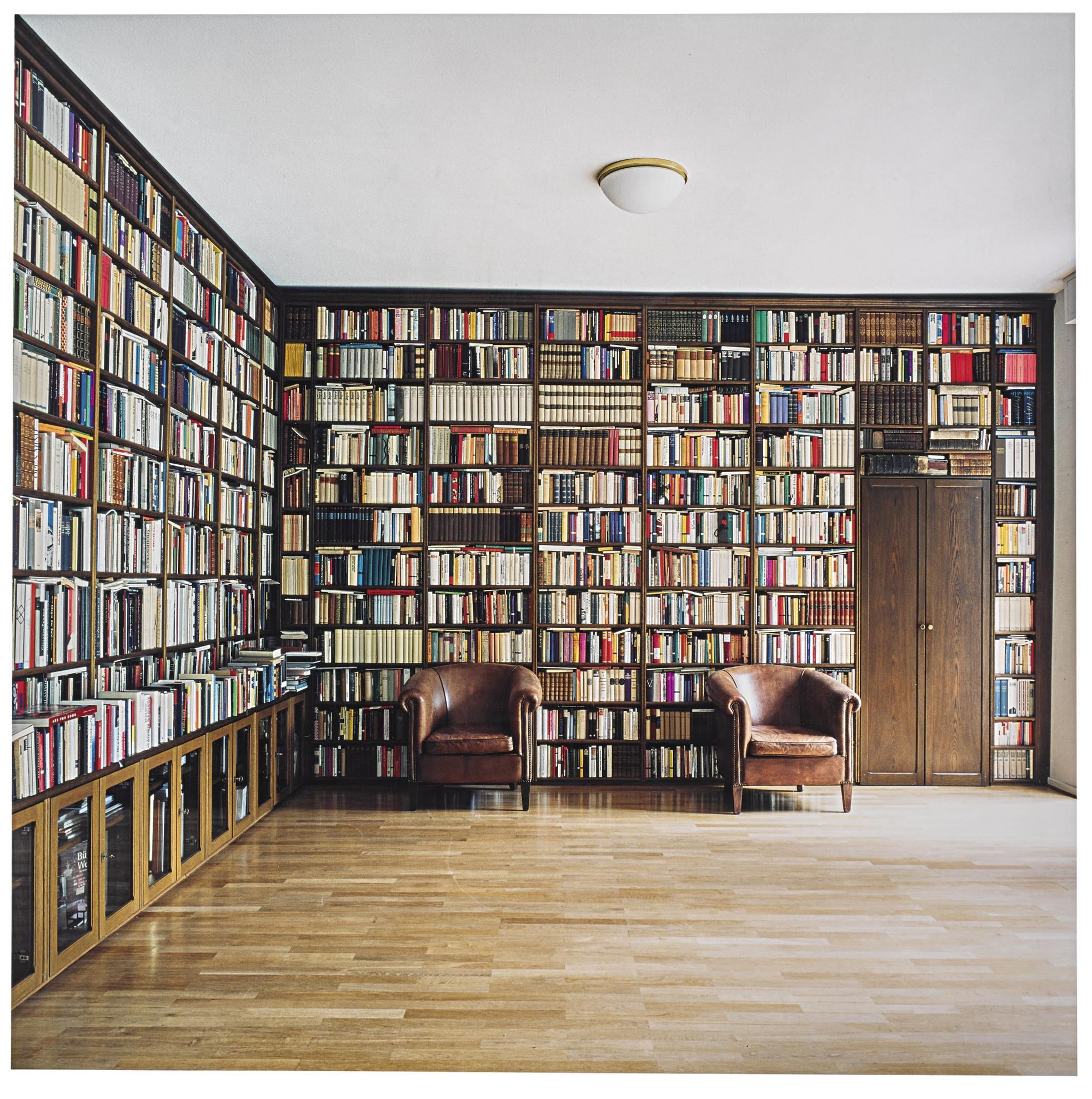 Candida Hofer-Bibliothek Reiner Speck III-2000