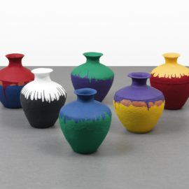 Ai Weiwei-Colored Vases-2015