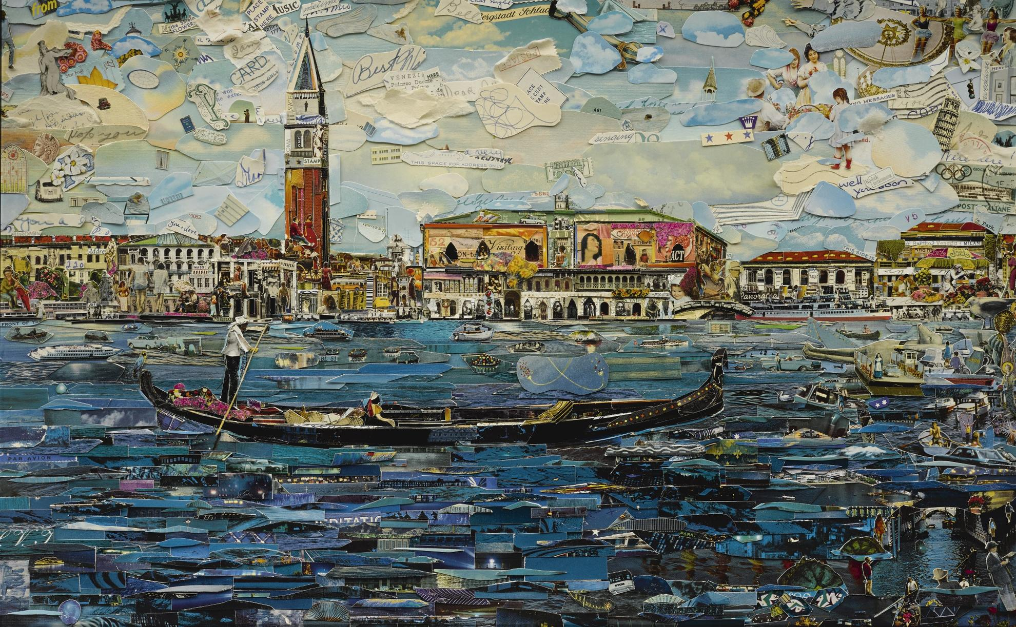 Vik Muniz-Venice (Postcards From Nowhere)-2014