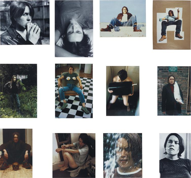 Sarah Lucas-Self Portraits 1990-1998 (Complete Portfolio Of 12 Works)-1999