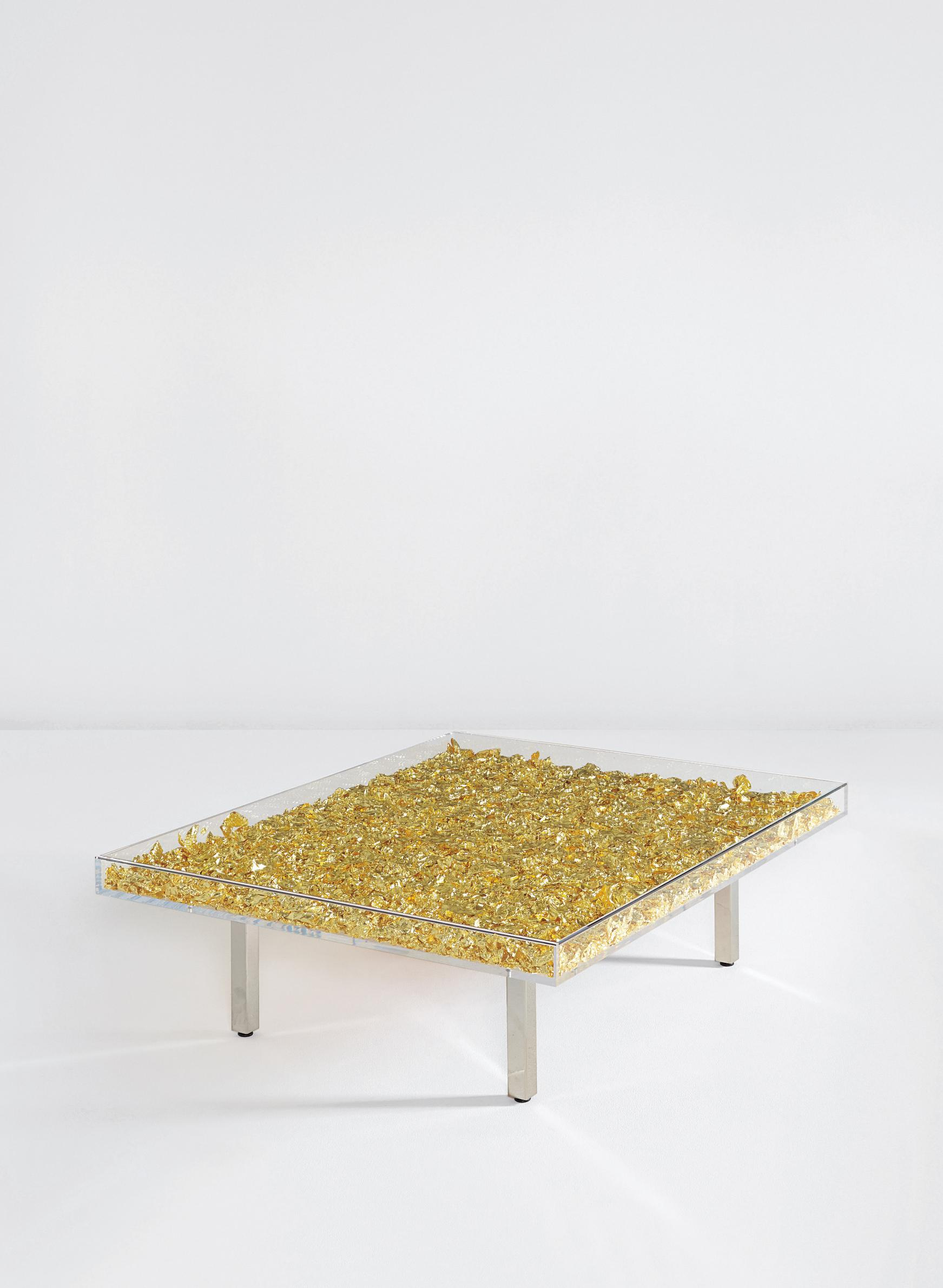 Yves Klein-Table Monogold TM-1961