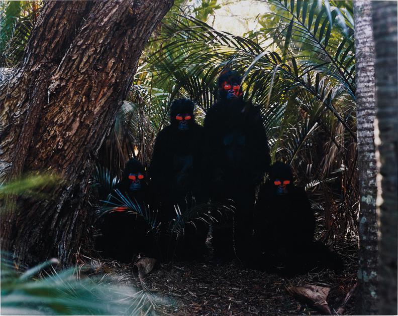 Olaf Breuning-Apes-2001