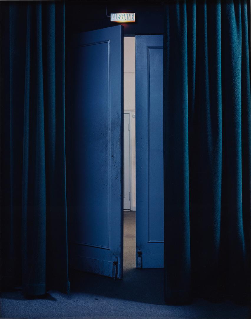 Teresa Hubbard And Alexander Birchler - Arsenal - Curtain Exit-2000