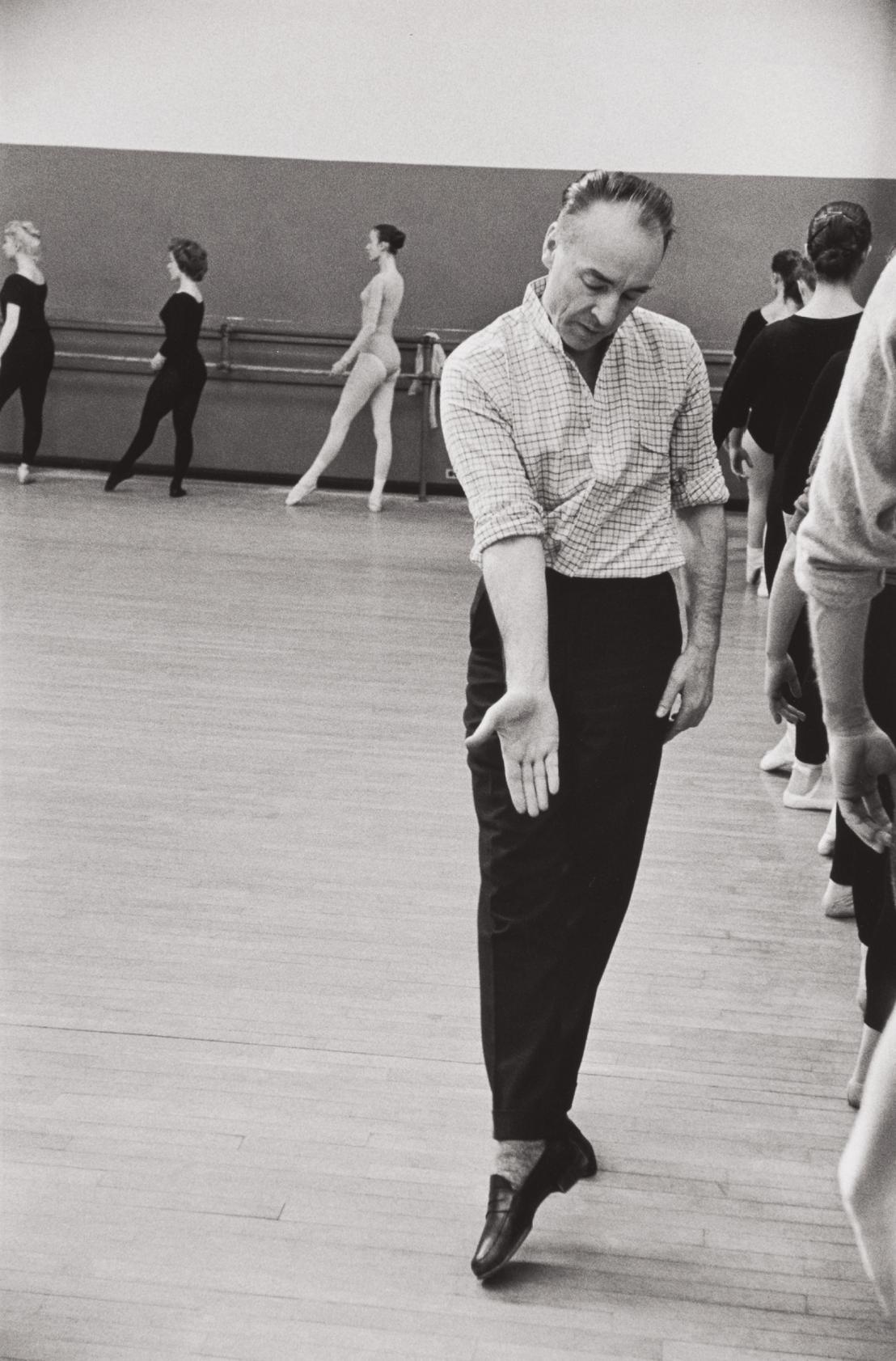 Henri Cartier-Bresson-George Balanchine, New York City-1959