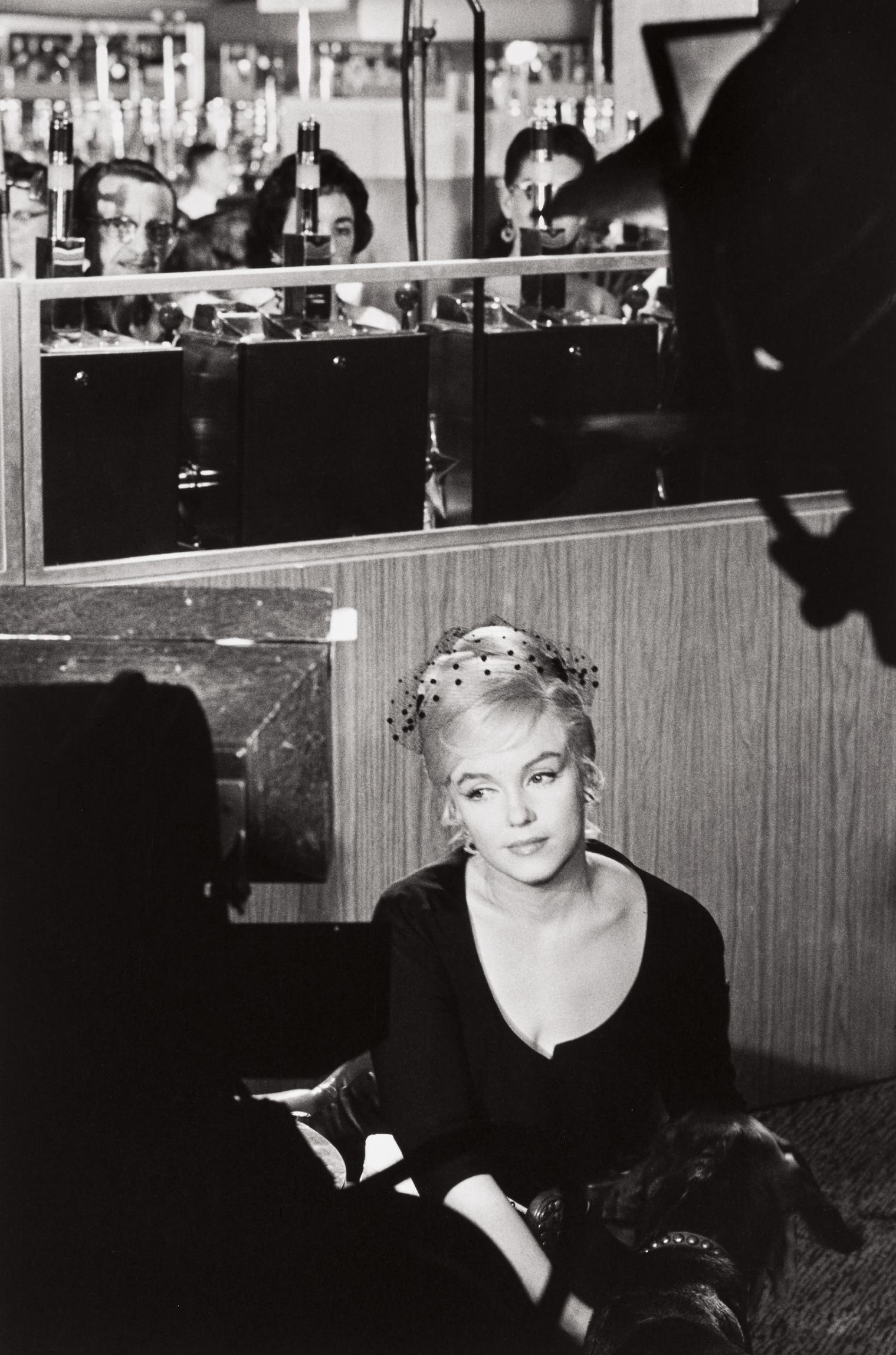 Henri Cartier-Bresson-Marilyn Monroe During The Filming Of The Misfits, Nevada-1960