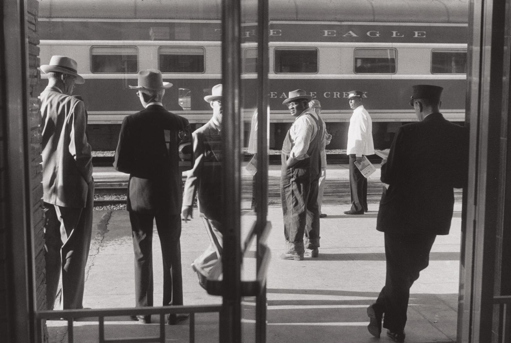 Henri Cartier-Bresson-Railway Station, St. Louis, Missouri-1957